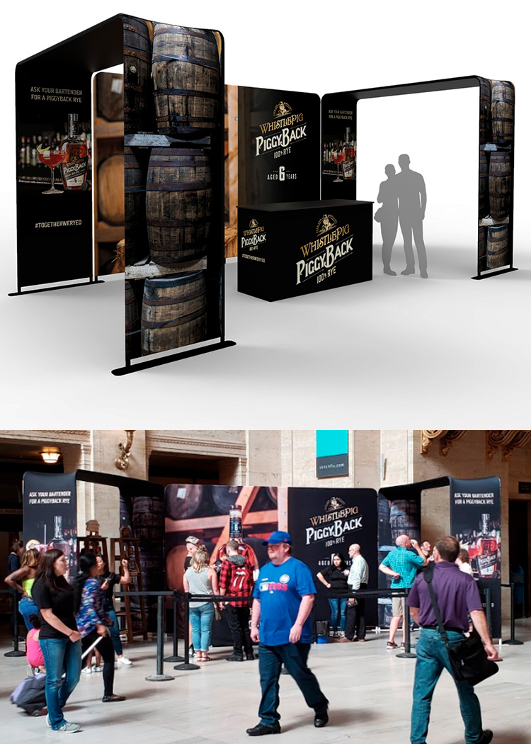 custom asset fabrication for experiential marketing