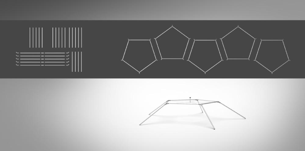 event dome setup - step 2