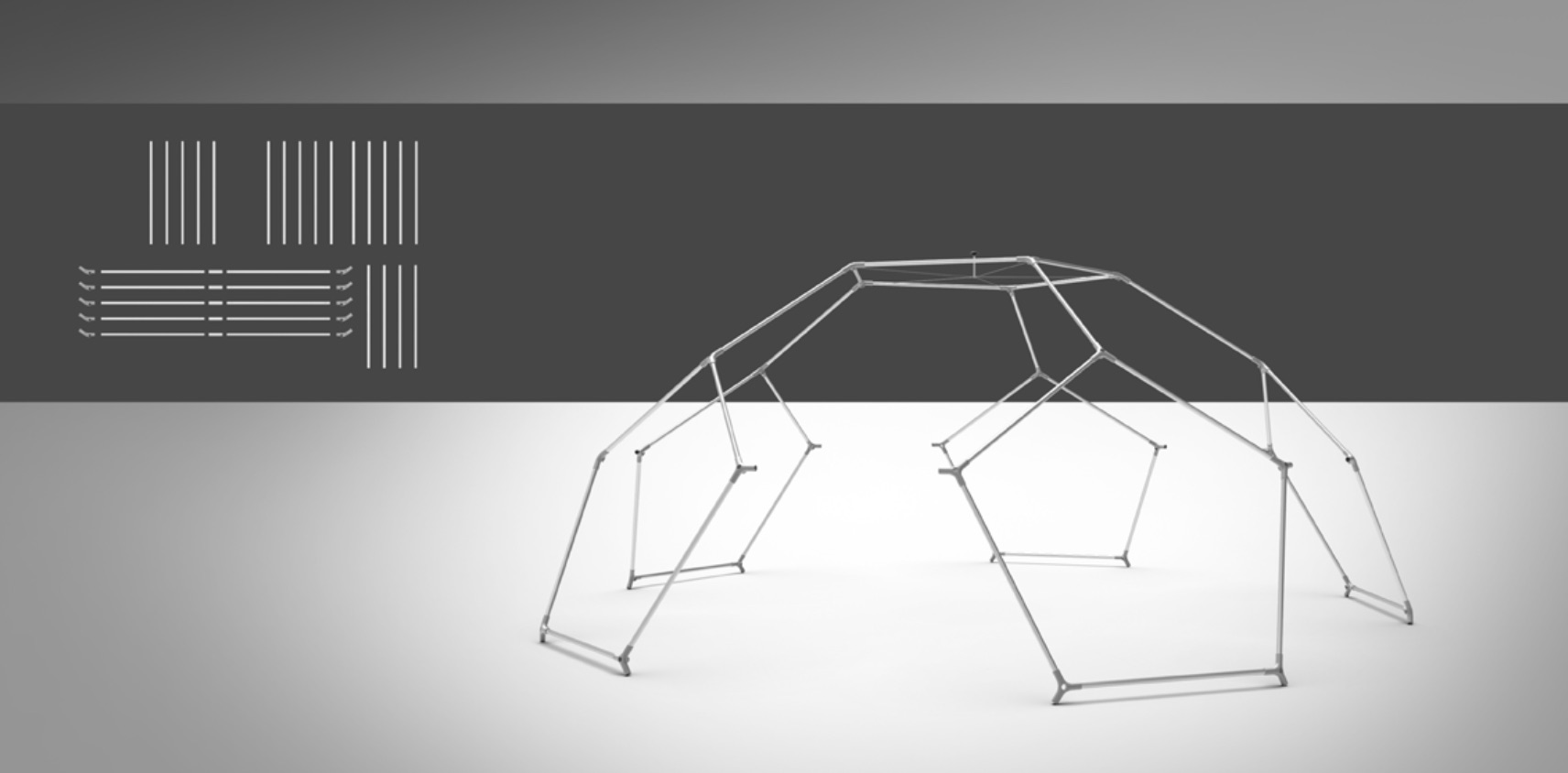event dome setup - step 3