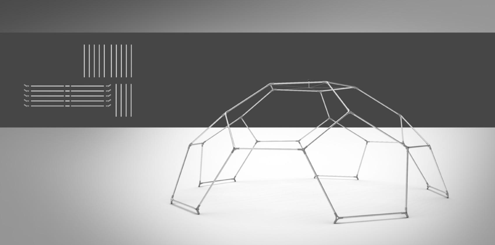 event dome setup - step 4