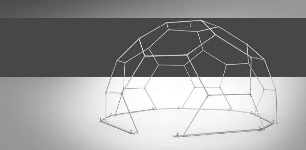 event dome setup - step 6