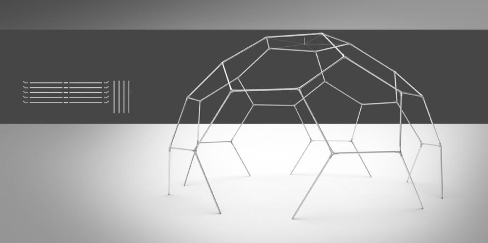 event dome setup - step 5