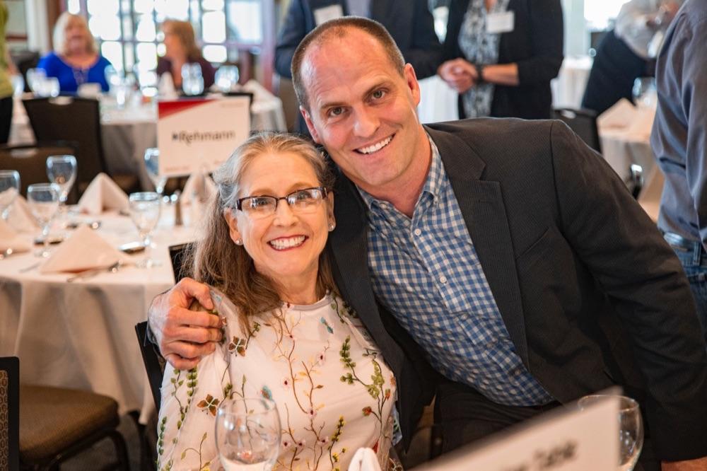 Matt Bulloch with mom