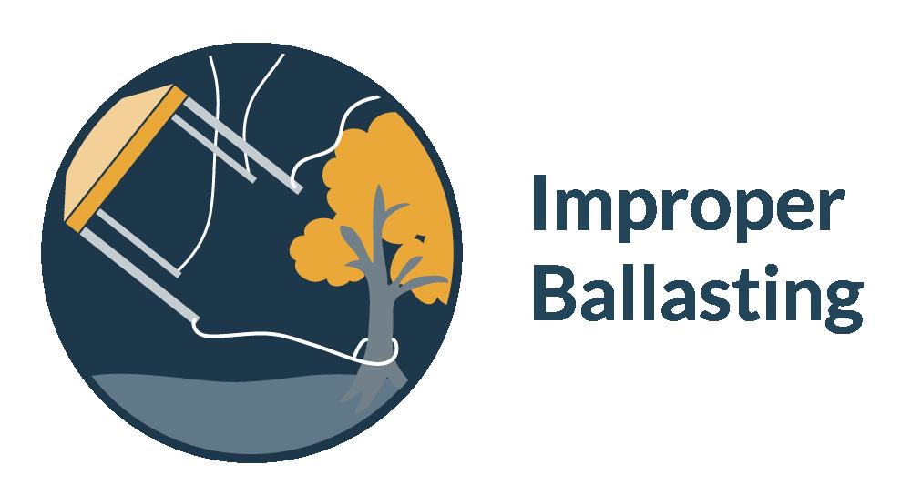 pop up tent warranty coverage for improper ballasting
