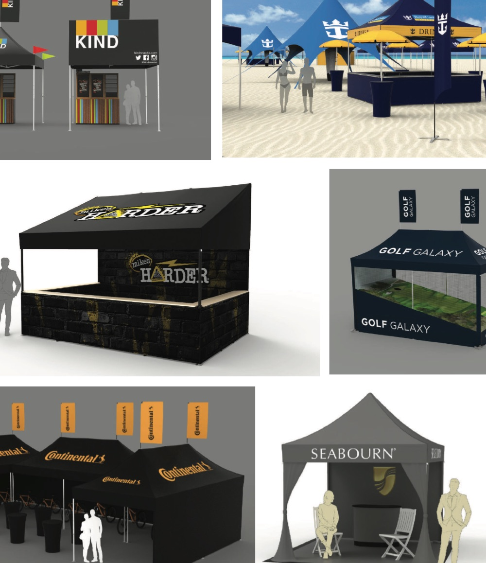 custom event tent renderings and ideas for outdoor events