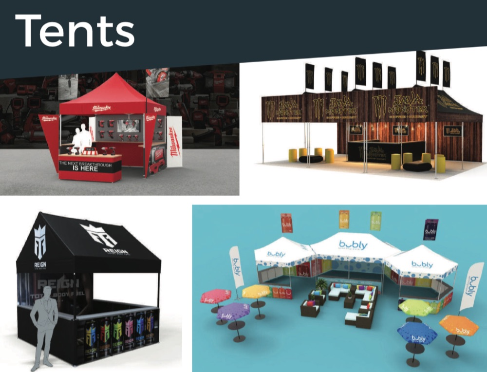 custom tent ideas and examples