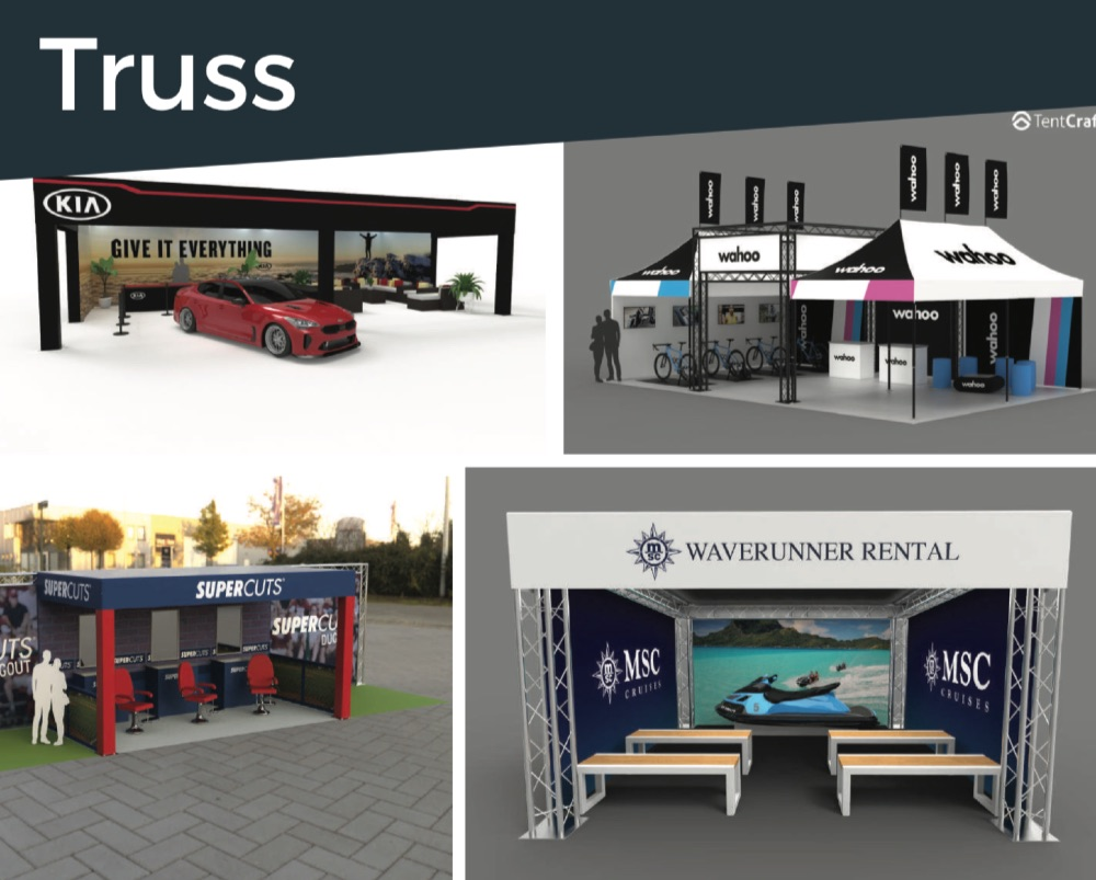 event truss examples and ideas