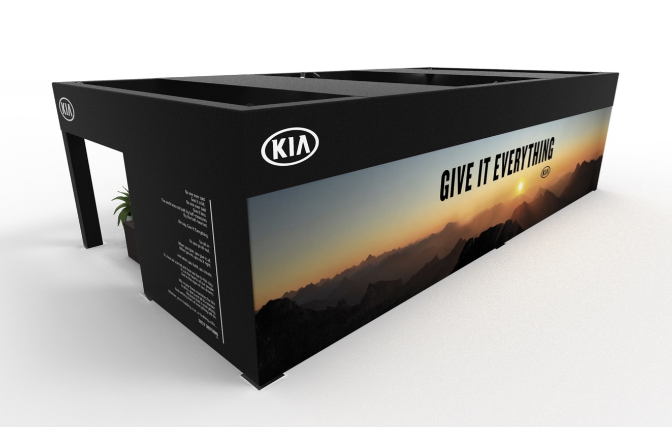 custom experiential fabrication for auto brands
