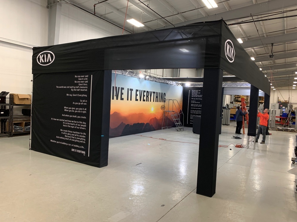 custom event fabrication for automotive brands
