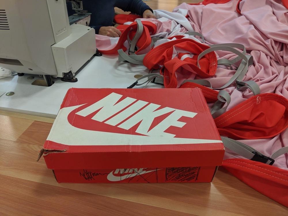 Nike shoebox experiential fabrication