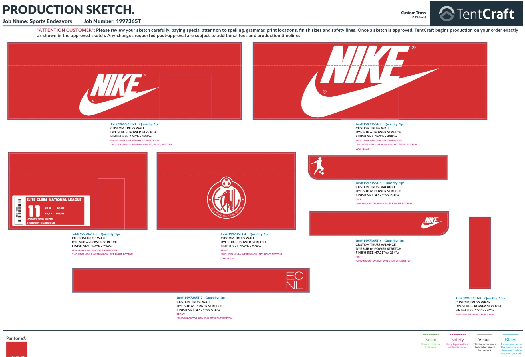 experiential manufacturing giant Nike shoebox panel