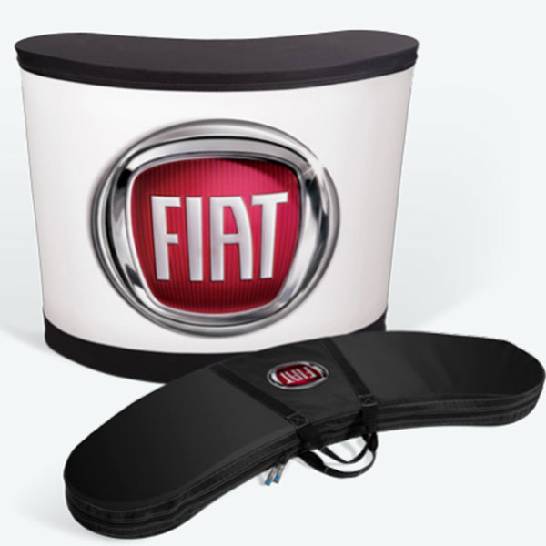 Inflatable event counter customized for Fiat
