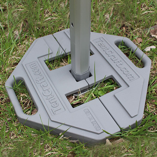 Pop-up tent footplate weights for TentCraft mightyTENT