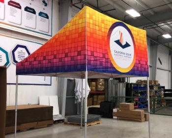 example of custom storefront canopy tents for sale