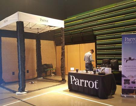 8X8 drone cage for Parrot