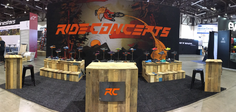 example of a custom trade show backdrop for retail experience