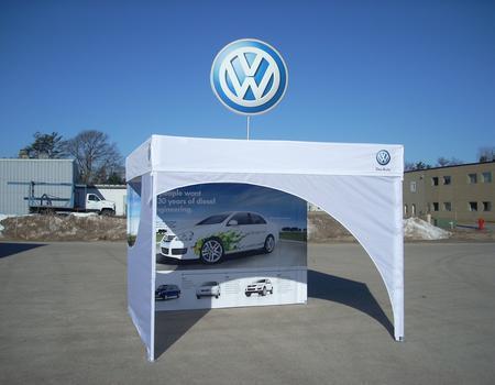 VW Custom 10x10 Pop-Up Tent