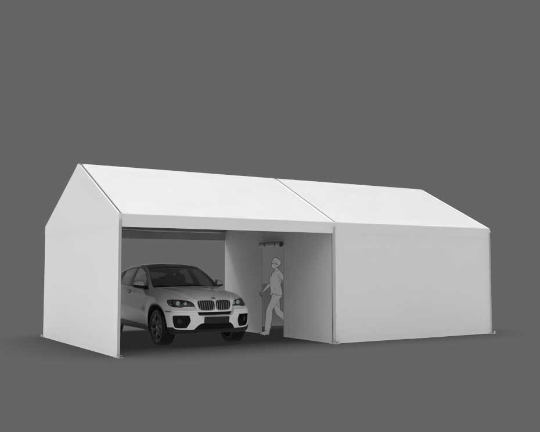 15x30 drive thru tent for covid screening and vaccination clinics