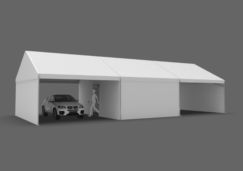 20x45 vaccination tent